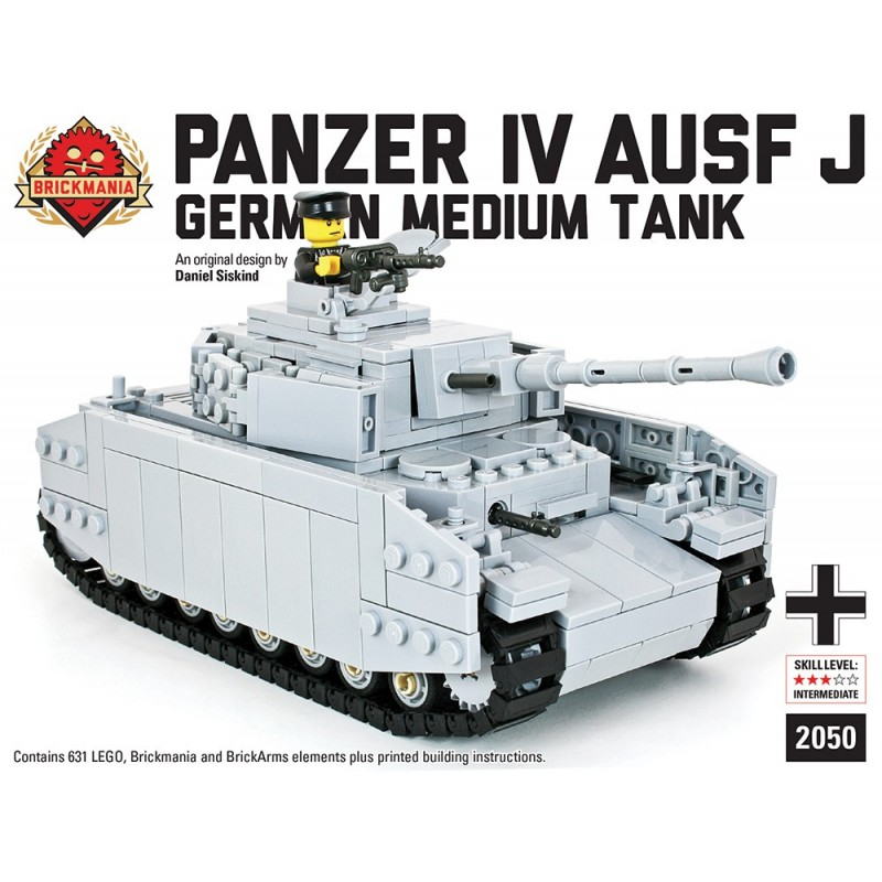 Lego Brickmania PzKfz VI Ausf B King Tiger WWII German Tank New