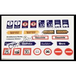 30s - Stickerbogen Set 9