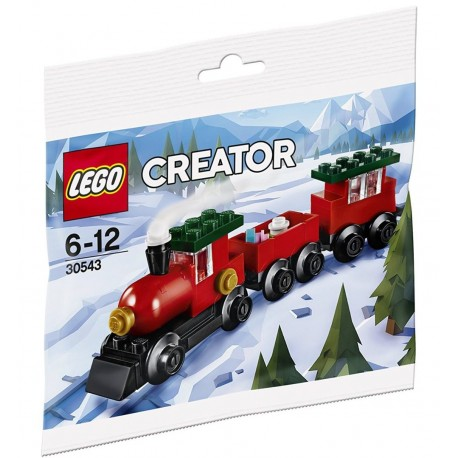 LEGO ® Christmas train - poly