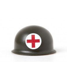 WW2 -American- Red Cross Pot Helmet