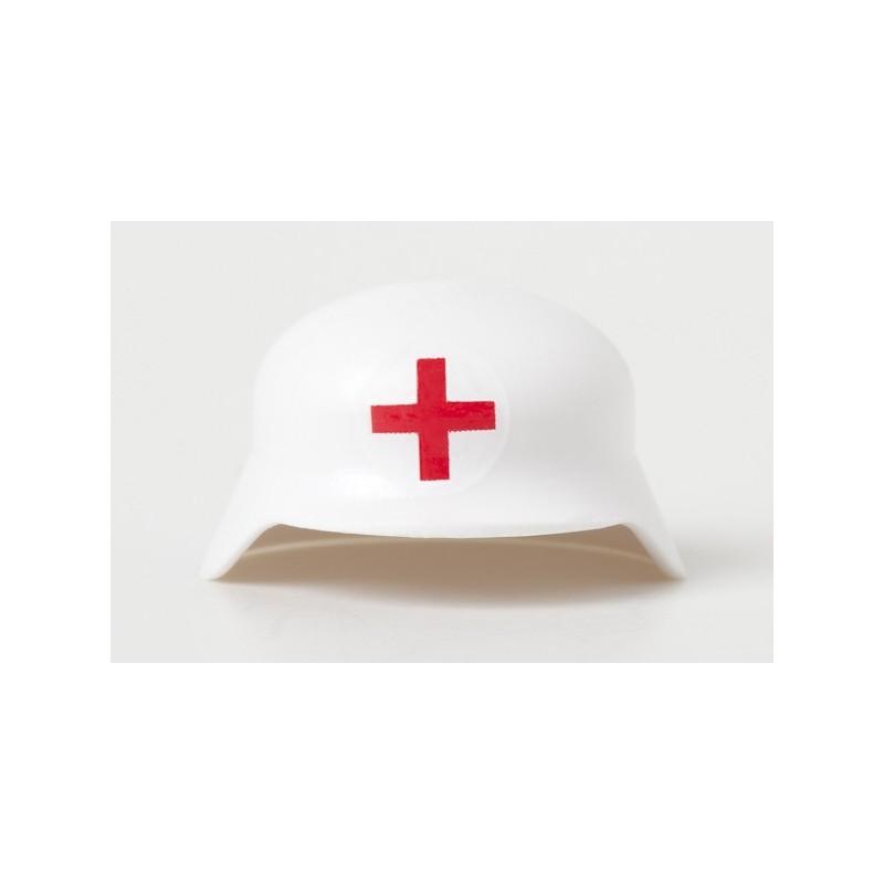 WW2 - Duitse Stahlhelm - Wit