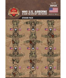 WK2 - U.S. Airborne 82nd - Sticker Pack