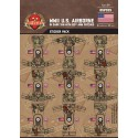 WW2 - U.S. Airborne 82nd - Sticker Pack