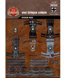 WK2 - Deutsche Piloten - Sticker Pack