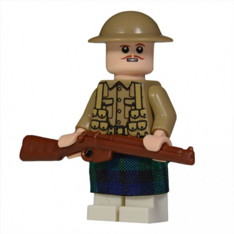 WW1 Scottish Soldier