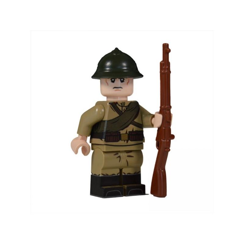 WW1 Russian Soldier Minifigure