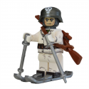 WW2 Finnish Ski Trooper Minifiguur