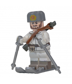 WW2 Russian Ski Trooper Minifigure