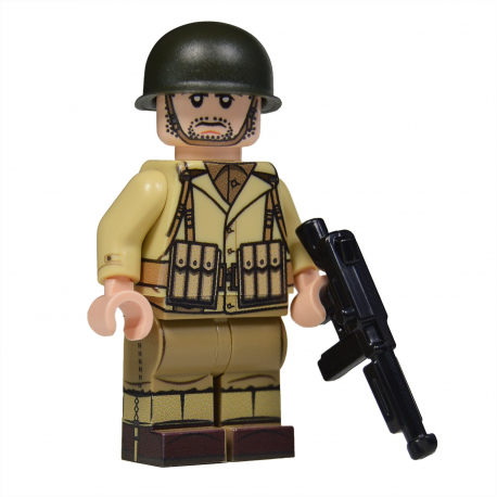 WW2 U.S. Army NCO Minifigure