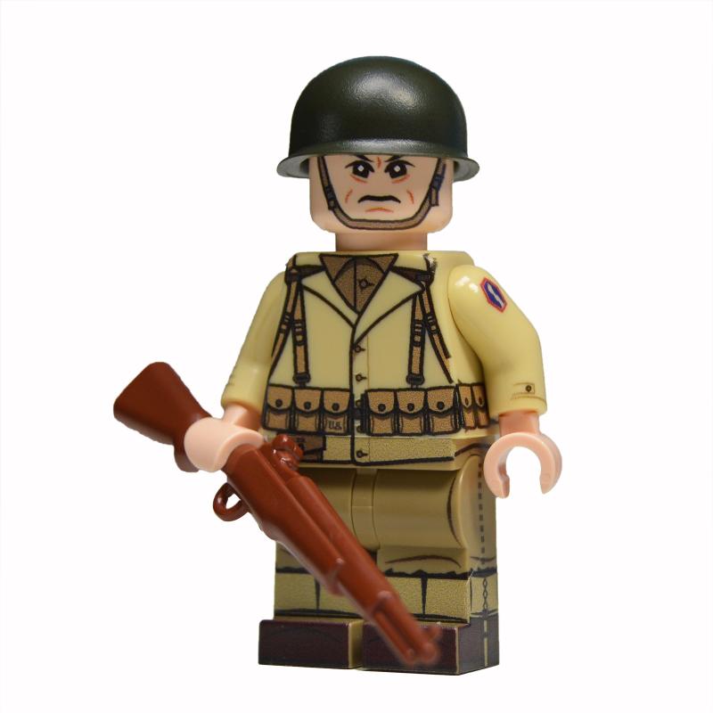WW2 U.S. 442nd Infantry Minifigure