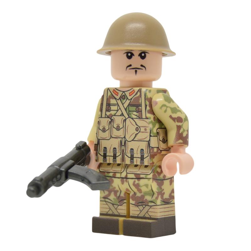 WW2 Japanese Giretsu Paratrooper Camouflage Minifigure