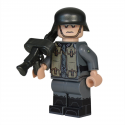 WW2 German Soldier MG 30 Pouches Minifigure