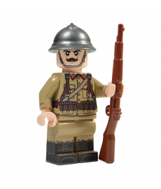 WW2 Belgian Soldier Minifigure