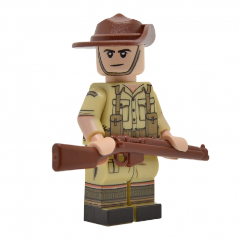 WW2 Australian Minifigure (Desert)