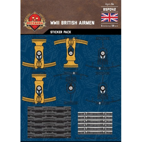 WW2 - German Airmen - Sticker Pack
