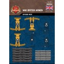 WW2 - Britse Piloten - Sticker Pack