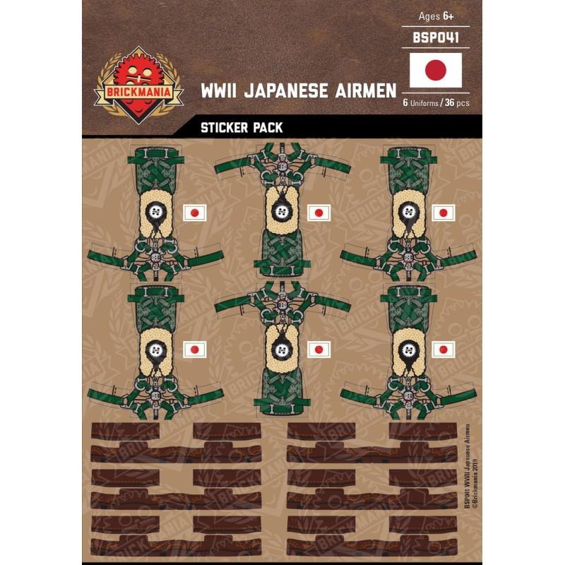 WK2 - Britischen Piloten - Sticker Pack