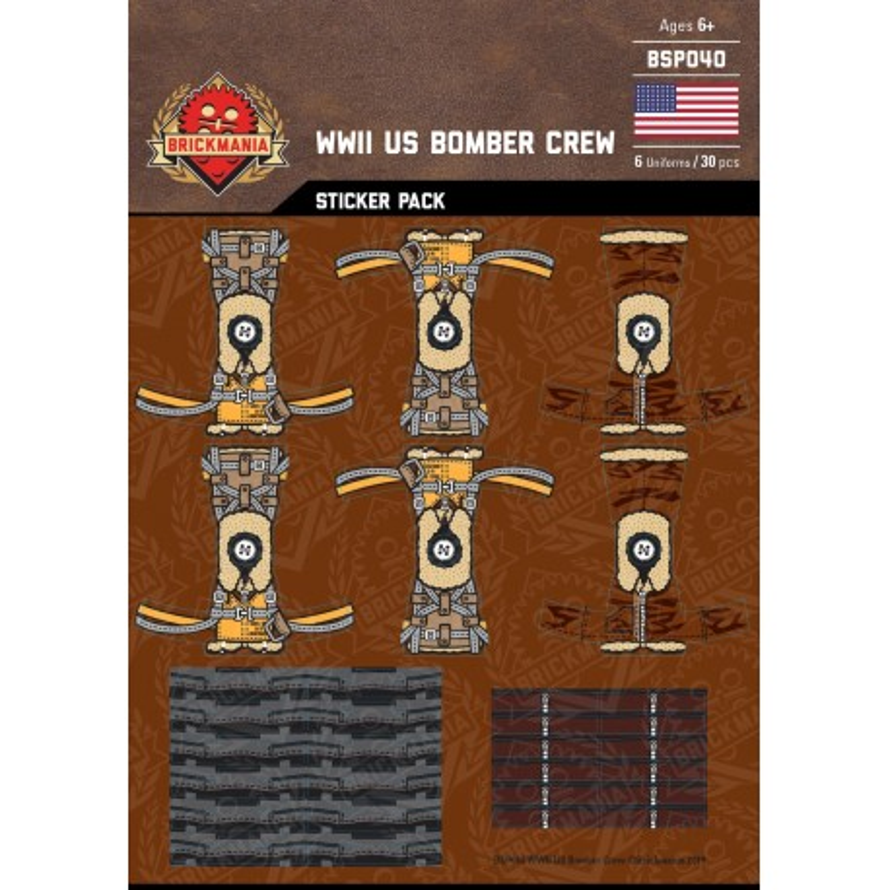 WK2 - Japanische Piloten - Sticker Pack