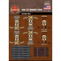 WW2 - US Bomber Crew - Sticker Pack