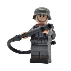 WW2 German with Flamethrower