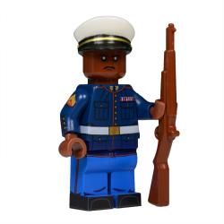 U.S. Marine in Dress Blues Minifigure