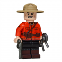 Canadian Mountie Minifigure