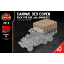 Canvas Bed Cover - Pack for Gaz AAA (BKM2203)