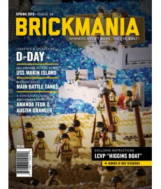 Brickmania Magazine Issue 25 Lente 2019