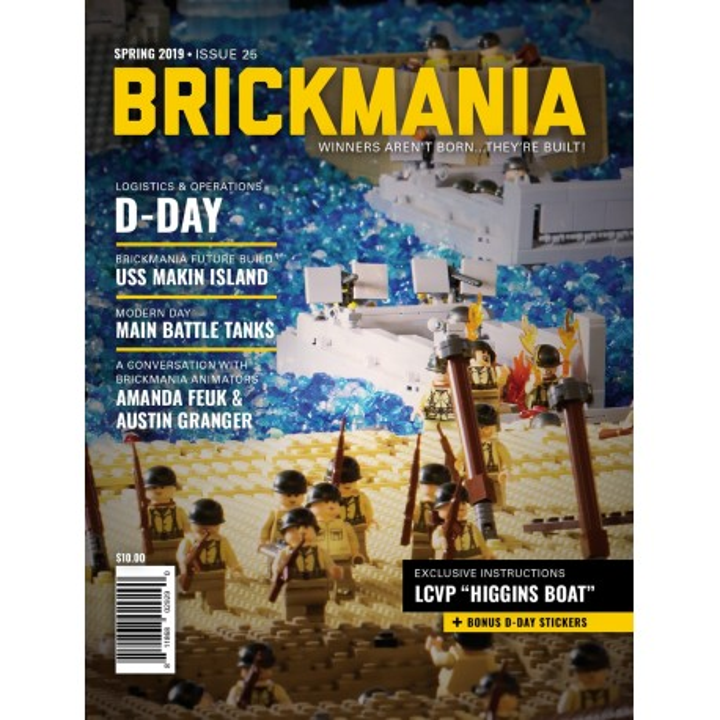 Brickmania Magazine Issue 25 Spring 2019
