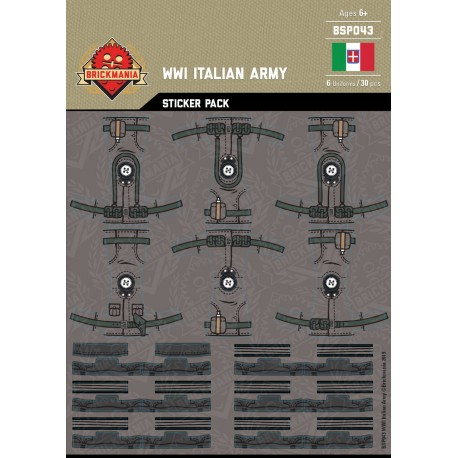 WW1 - Italian Army - Sticker Pack
