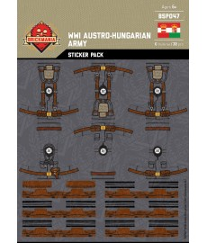 WW1 - Austro Hungarian - Sticker Pack