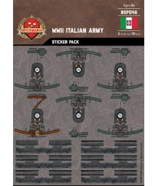WW2 - Italian Army - Sticker Pack