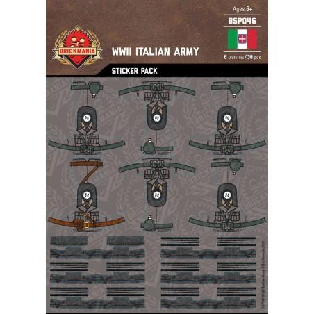 WW2 - Italian Army - Sticker Pack