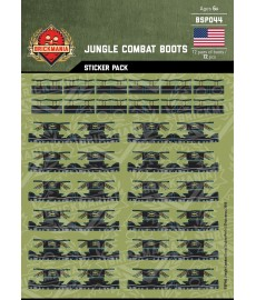 Jungle Combat Boots - Sticker Pack