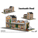 Sawtooth Shed - Building instructions