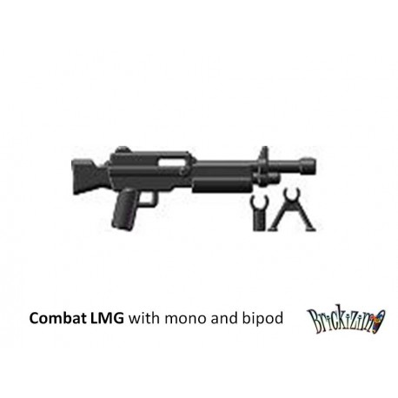 Combat LMG with mono- and bi pod