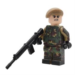 Falklands War British Infantry
