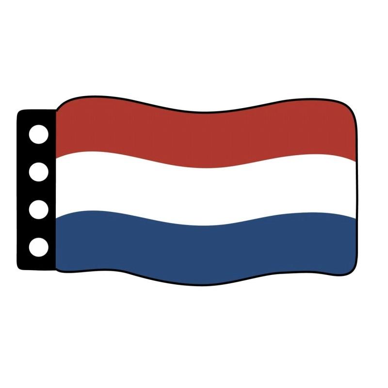 Flag : - Netherlands