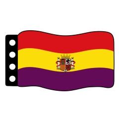 Flage : Spanje Republiek 1931-1939