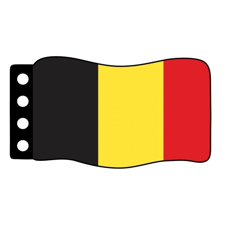 Flag : Belgium