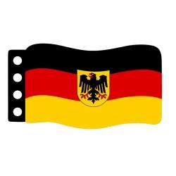 Vlag : West-Duitsland