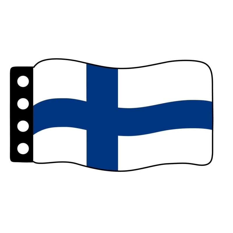Vlag : Finland
