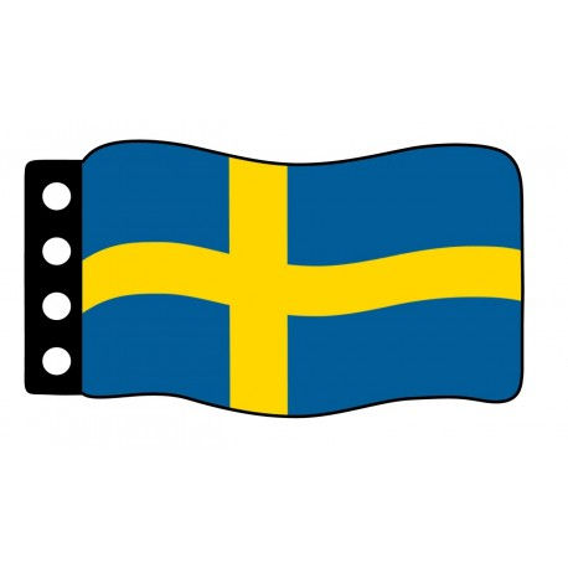 Vlag : Zweden
