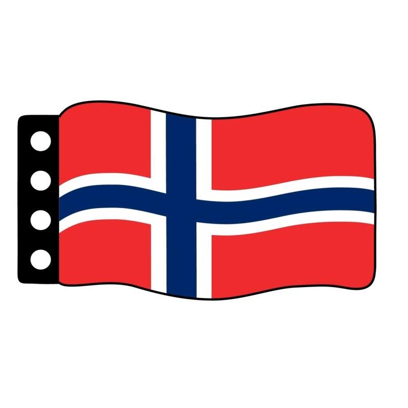 Vlag : Noorwegen