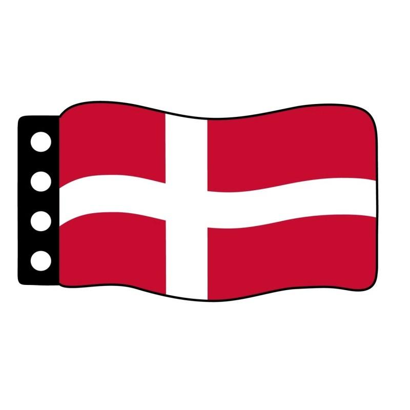 Vlag : Denemarken