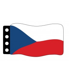 Flag : Czech Republic
