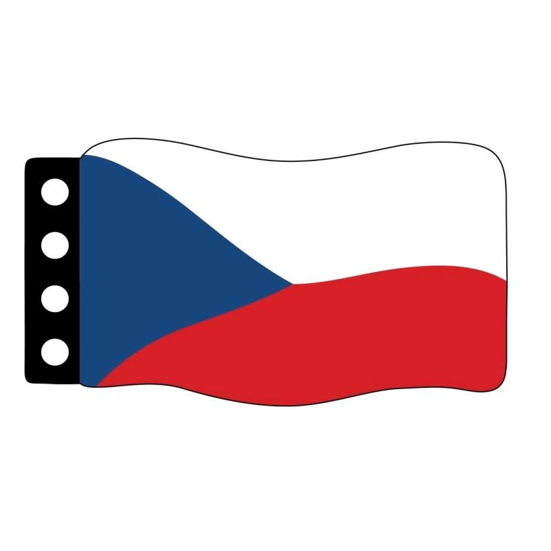 Flag : Czech Republic