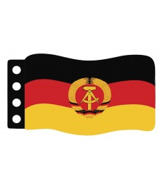 Flag : German Democratic Republic