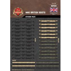 WW2 - British Boots - Sticker Pack