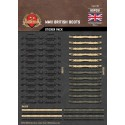 WW2 - British Boots - Sticker Pack